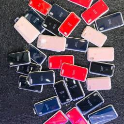 Capa de silicone para iPhone