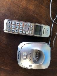 Telefone Sem Fio Panasonic Kx-tg4021n Telepon Dect 6.0 Expansível Digital