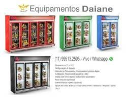Auto serviço expositor de flor, refrigerador vertical, geladeira, floricultura