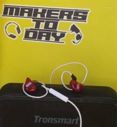 Fones In Ear Kz Fonge  Monitor Palco Celular Tablet Esportes