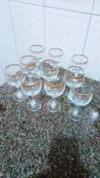 Taças de vidro