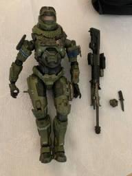 Play Arts KaI Spartan Soldier Master Chief Halo