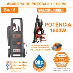 Lavadora de Alta Pressão 1600W  BW16 Black And Decker