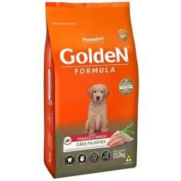 Ração Golden Filhotes de Dog 15kg (Aceito cartão)