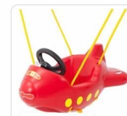 Balanço Infantil avião  xalingo