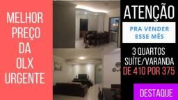 Vendo meu Apartamento Urgente 3 quartos com suíte região Dona Clara