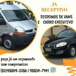 Aluguel de van e carro executivo