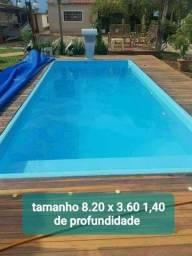 piscina de fibra