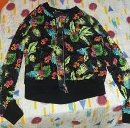 jaqueta estampada