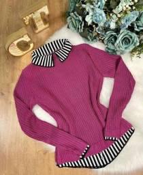 Blusas tricô
