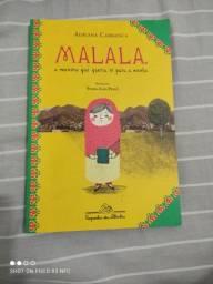 Livro novo Malala