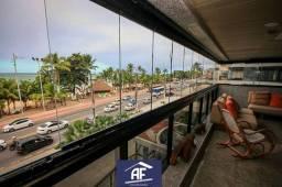 Apartamento de alto padrão com vista permanente para o mar, 4 suítes - Maceió/AL