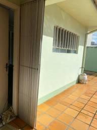 Portão Pantográfico Grade alumínio