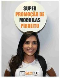 Mochila Pirulito (ações Promocionais E Divulgações Em Geral)