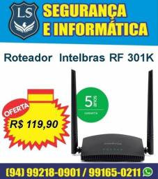 Promoção Roteador Wi-Fi RF 301K Intelbras