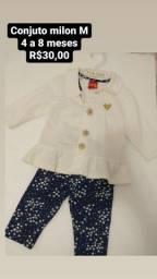 Roupinhas e sapatos para bebê