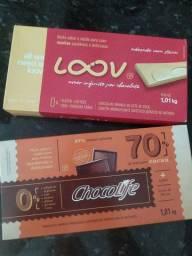 2 Barras de Chocolate 70% cacau