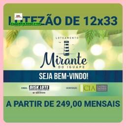 Título do anúncio: Loteamento Mirante do Iguape!!!!