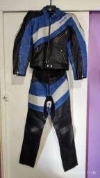 Macacão moto feminino - 2 peças