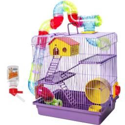 Gaiola Lilas para Hamster Nova