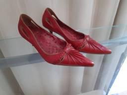 Sapato em Couro da Carmem Steffens