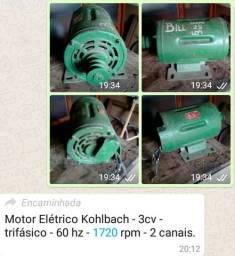 Motor Elétrico Kohlbach