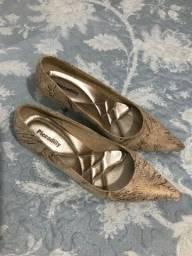 Sandalia de salto N 37