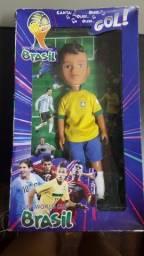 Boneco Neymar Coleção Fifa World Cup - Novo