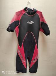 Short John Mormaii, roupa de borracha, wetsuit