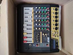 Mesa de som skp VZ-60II amplificada