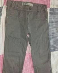 Calça jeans infantil Tam 3/4 anos