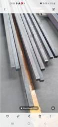 """Barra quadrada 2"""" (50 mm) aco carbono"""