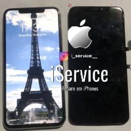 Troca de tela iPhone X OLED +película grátis