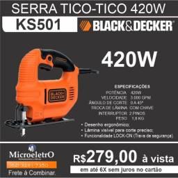Serra Tico Tico  420W KS501 Black & Decker