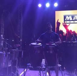 Sou percussionista