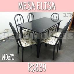 MESA ELISA( MESA com 6 cadeiras)