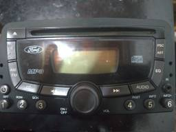 Radio Cd Player, Mp3 Com Rds E Entrada Auxiliar Ford Focus