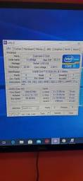 Gabinete  Game LGA  1155  ASUSTEK P8H77-V LE I3 3220 12GB DDR3 FONTE RGB SSD 249