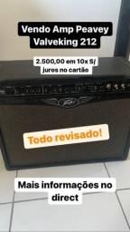 Amplificador Peavey Valveking 212