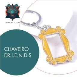 Chaveiro moldura serie Friends (dupla face em metal)