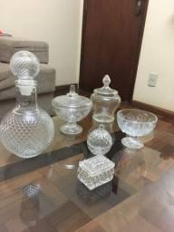 Enfeites de vidro