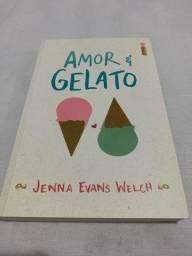 Livro Amor & Gelato