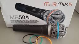 Microfone mister mix seminovo.