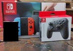 Nintendo Switch Desbloqueavel + Pro Controle + SXOS