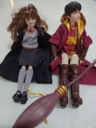 Boneco Harry Potter e Hermione