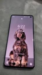 Samsung Galaxy S10 128gb impecável aceito cartão