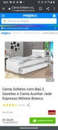 Vendo cama de baú com gavetas