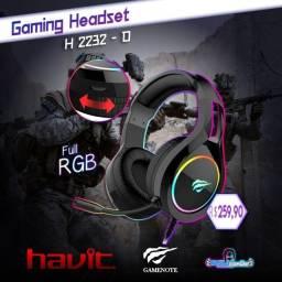 Headset Gamer Havit RGB