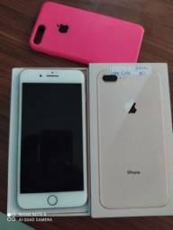 iPhone 8 Plus 64gb Gold (passa cartão )