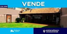 Casa à venda com 3 dormitórios em Jardim mônaco, Dourados cod:1306